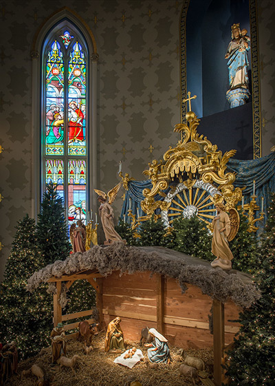 Basilica Christmas Nativity2014