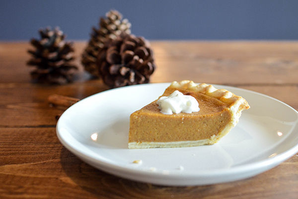 Canva Pumpkin Pie Slice On A Dish 600x400